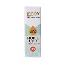 Fiole de 10 ML d'huile de CBD Full spectrum 10%   1000 Mg de Cannabidiol CBD INNOV - 3