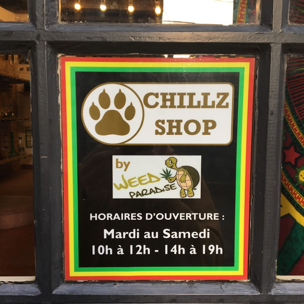 Chillz shop by weed paradise