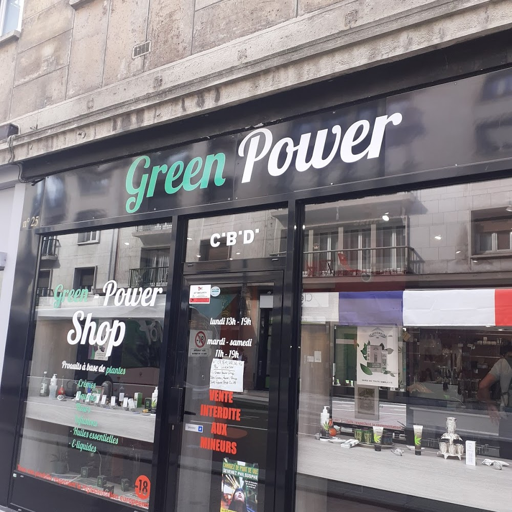 Green Power Shop CBD ROUEN
