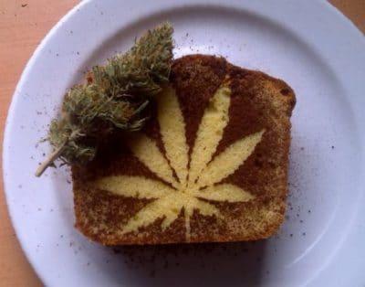gâteau au cannabis